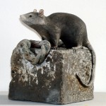 Sculpture rat de port
